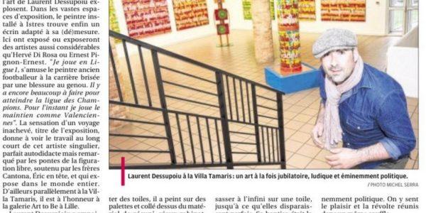 la Provence du 27 mars 2014 villa tamaris